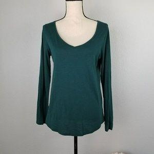 LOFT Ann Taylor long sleeve t-shirt top Size Med